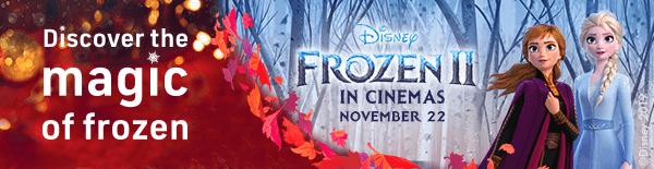 Discover the magic of frozen Disney frozen 2 in cinemas November 22