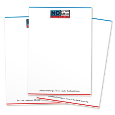 No Excuses Notepads