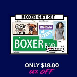 Dog Breed Gift Box - Boxer
