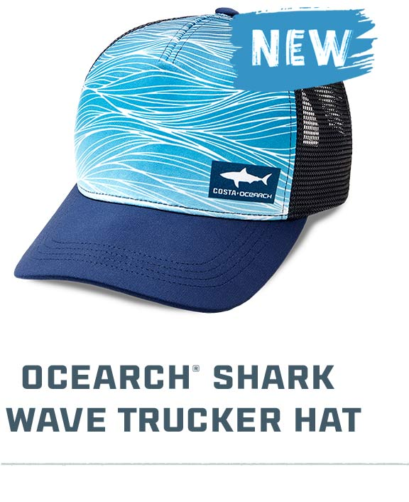 OCEARCH Shark Wave Trucker Hat