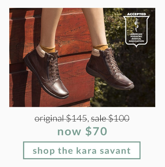Original $145, Sale $100, now $70! Shop the Kara Savant