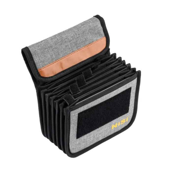 NiSi Cinema Filter Pouch for 4x4'' and 4x5.65'' (Holds 7 x 4x45'' or 4x5.65'' Filters )