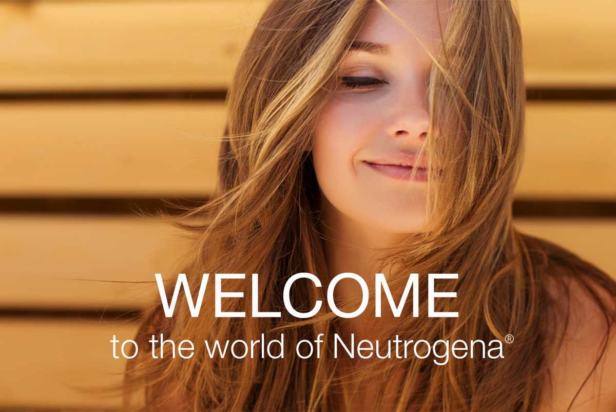 WELCOME TO THE WORLD OF NEUTROGENA.