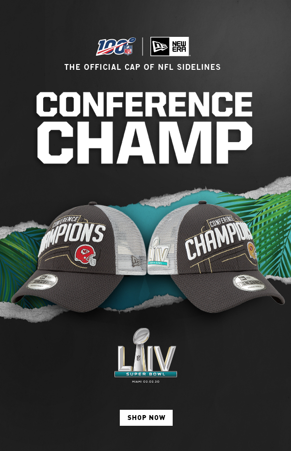 SHOP NOW | NFL Conference Champs