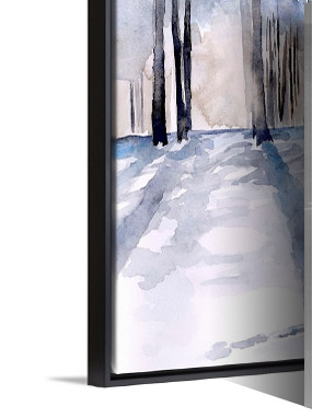 Winter Light II by Jennifer Paxton Parker