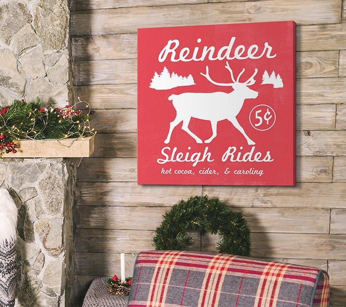 Reindeer Rides I by Emma Scarvey