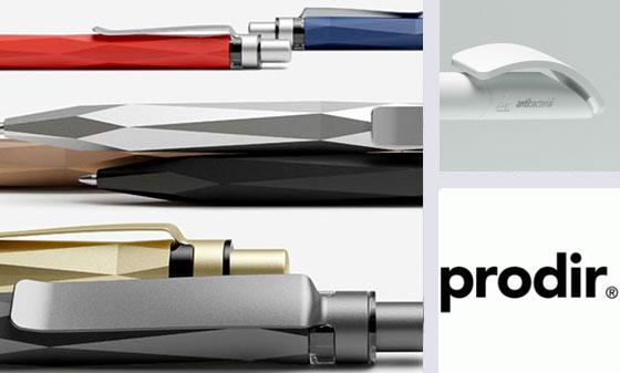 prodir antibacterial pens