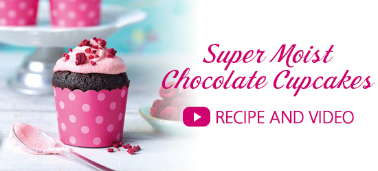 Super Moist Chocolate Cupcake