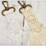 Create a boho macram� key chain at the library Dec. 7