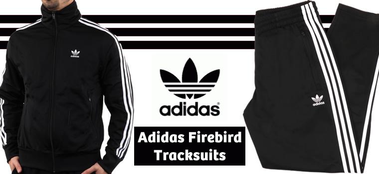 Adidas Firebird Black Full Suit