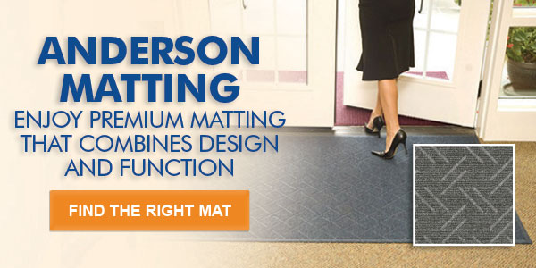 ANDERSON MATTING ENJOY PREMIUM MATTING THAT COMBINES DESIGN AND FUNCTION