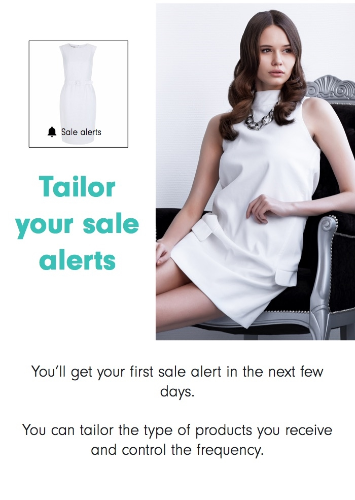 Tailor your alerts