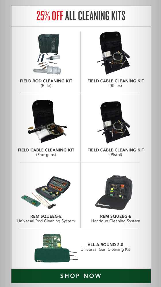 25% OFF All Cleaning Kits