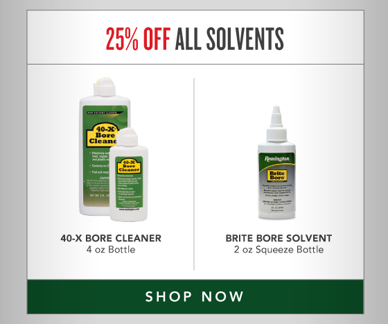 25% OFF All Solvents