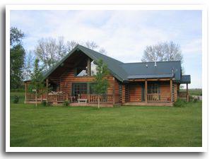 Creekside Log Home