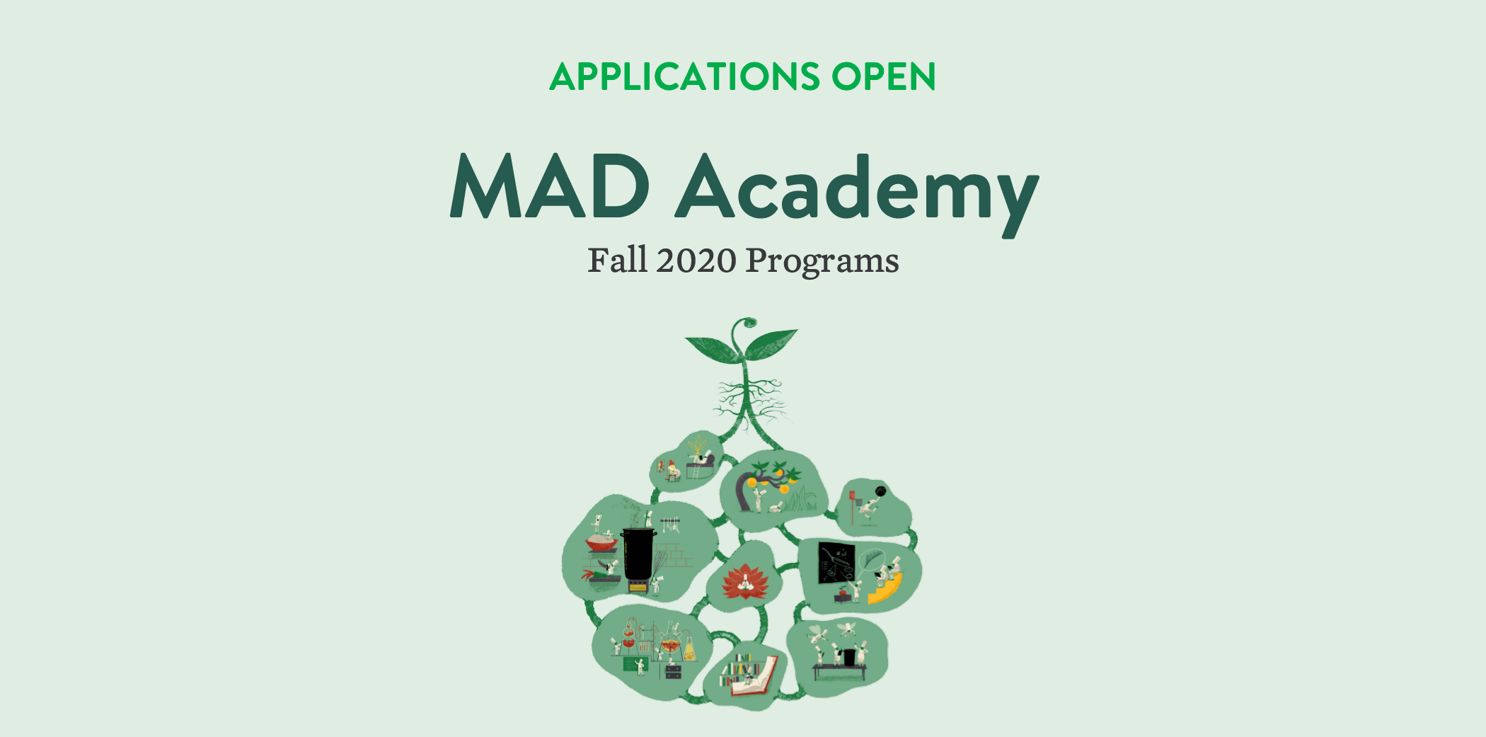 MAD Academy Applications Open