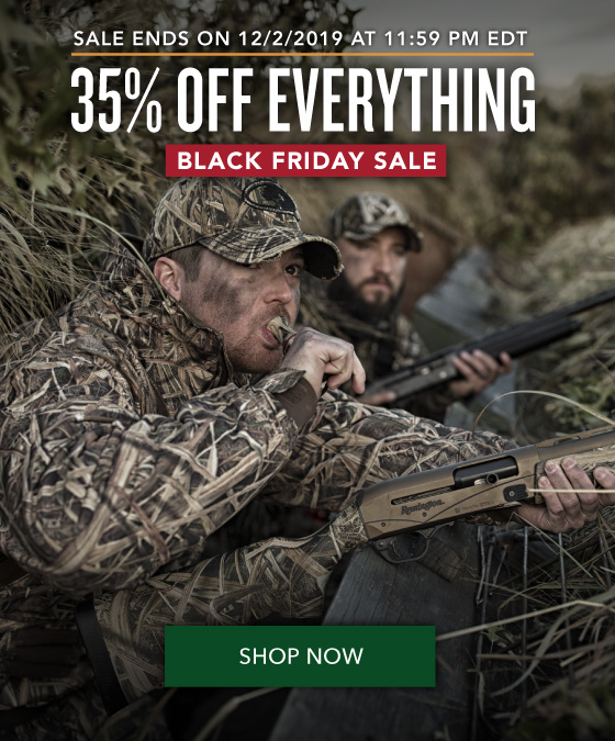 35% OFF Everything - Black Friday Sale