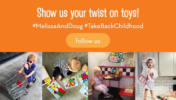 Show us your twist on toys! #melissaanddoug #takebackchildhood Follow us.