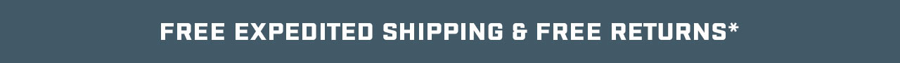 Free Expedited Shipping on Orders Over $199*