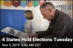 4 States Hold Elections Tuesday