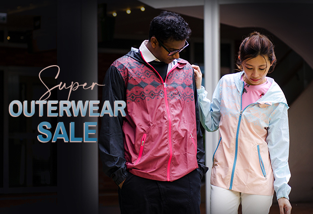 Outerwear Sale: Buy one and get the second one half off with free shipping!