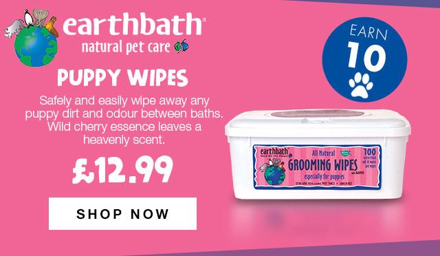 Shop Earthbath Puppy Wipes
