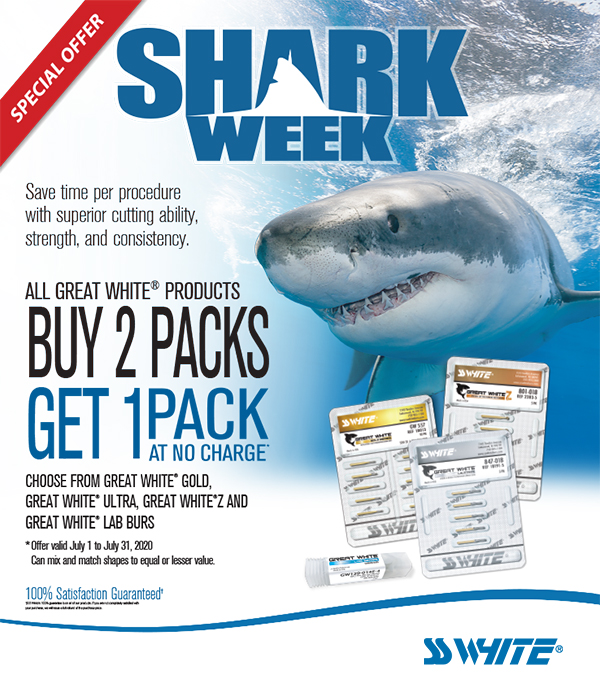 Shark Week Special Offer from SS White