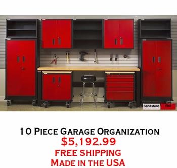 10 Piece Garage Organization