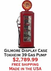 Gilmore Display Case Tokheim 39 Gas Pump
