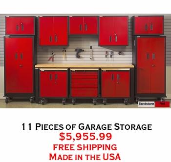 11 Pieces of Garage Storage