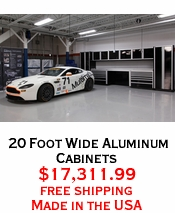 20 Foot Wide Aluminum Cabinets