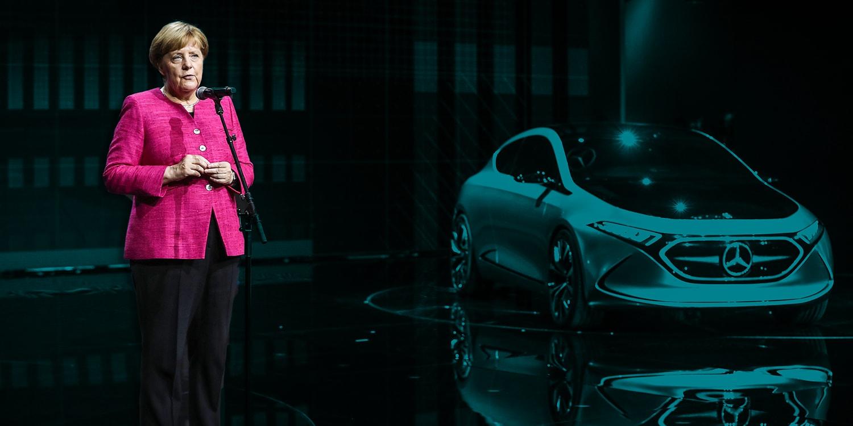 Image result for german electric cars 2020 merkel