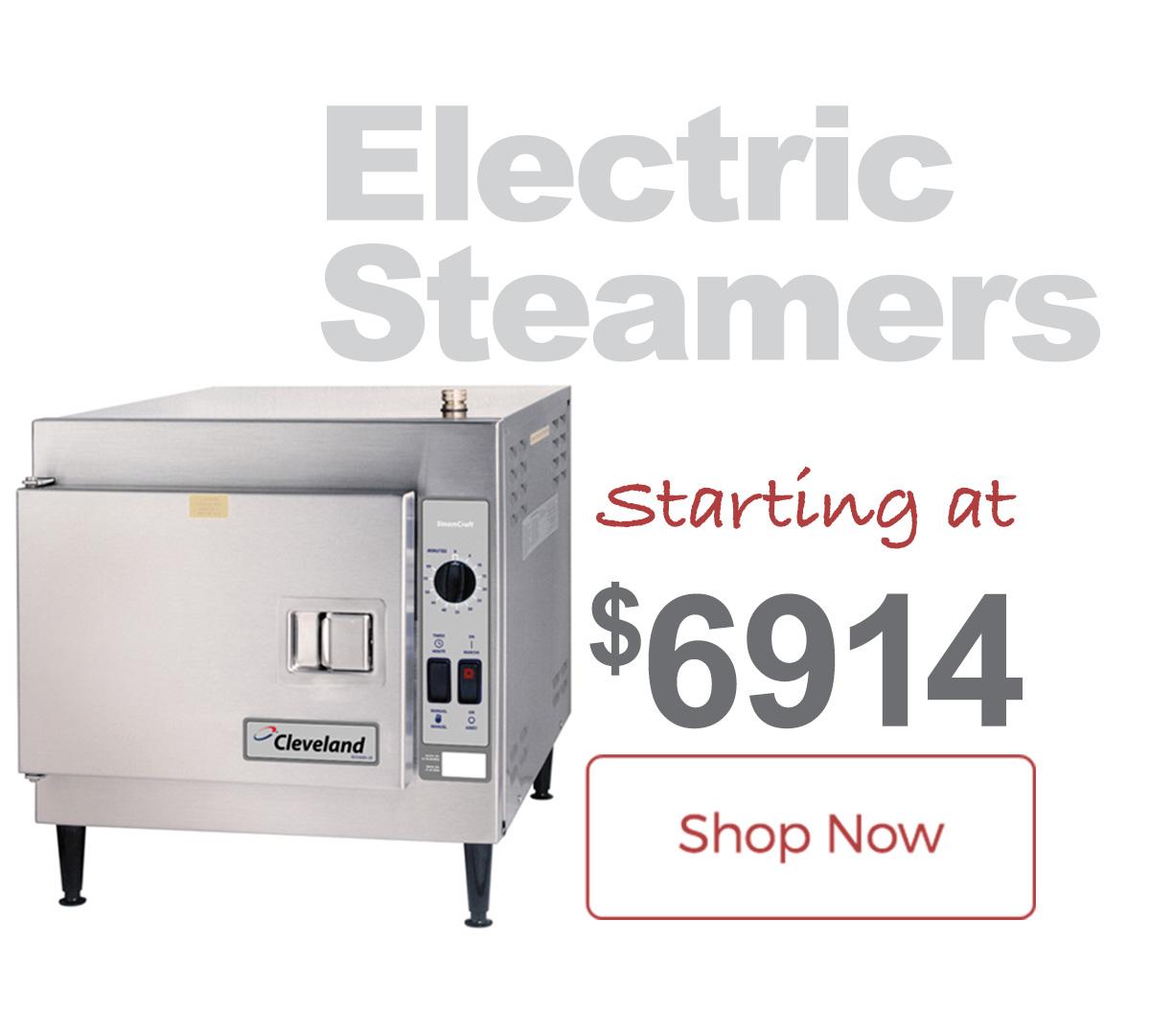 Shop Cleveland Range Steamers