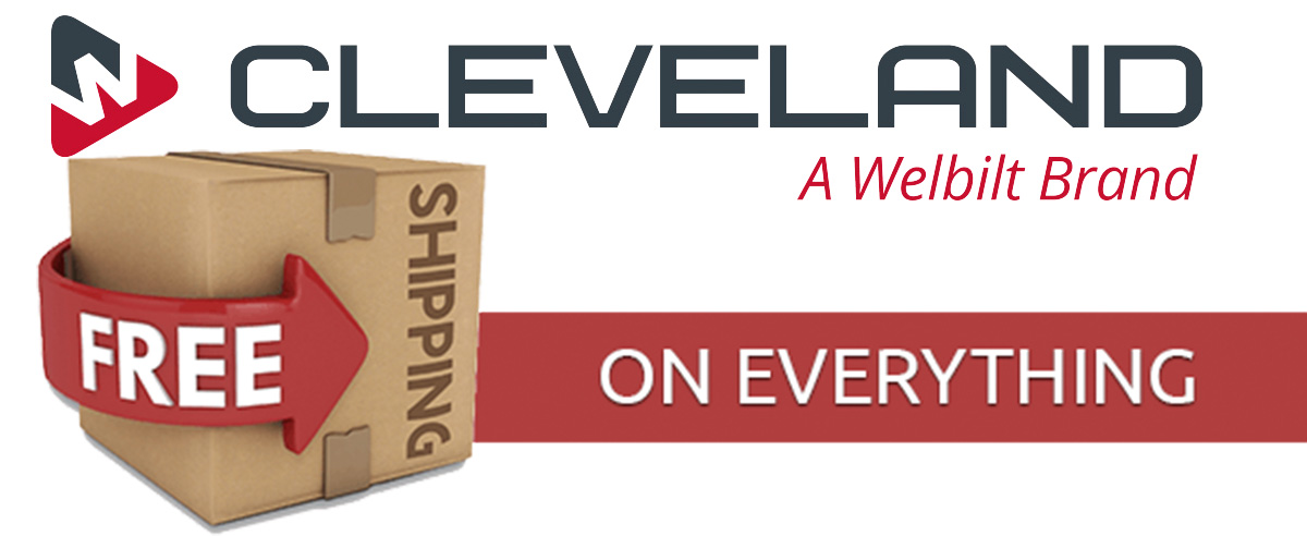 Shop Cleveland Range today and enjoy Free Shipping