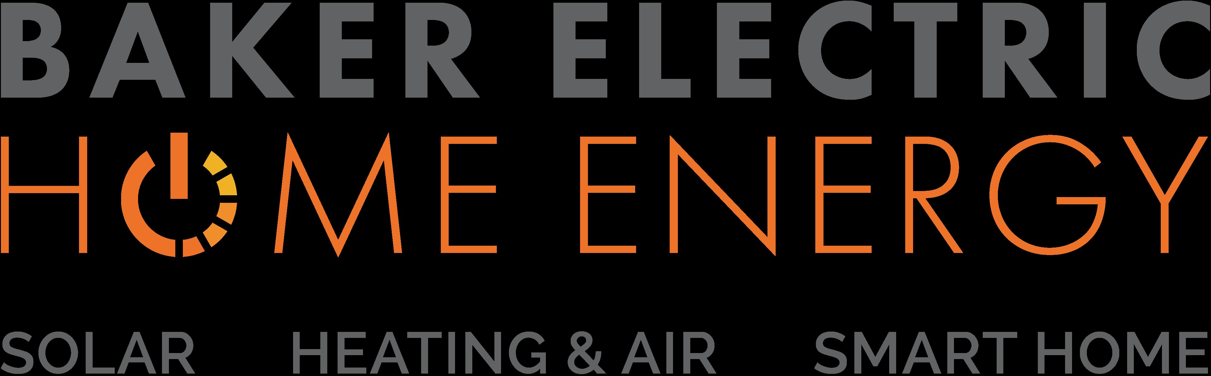 Baker Electric Home Energy Logo