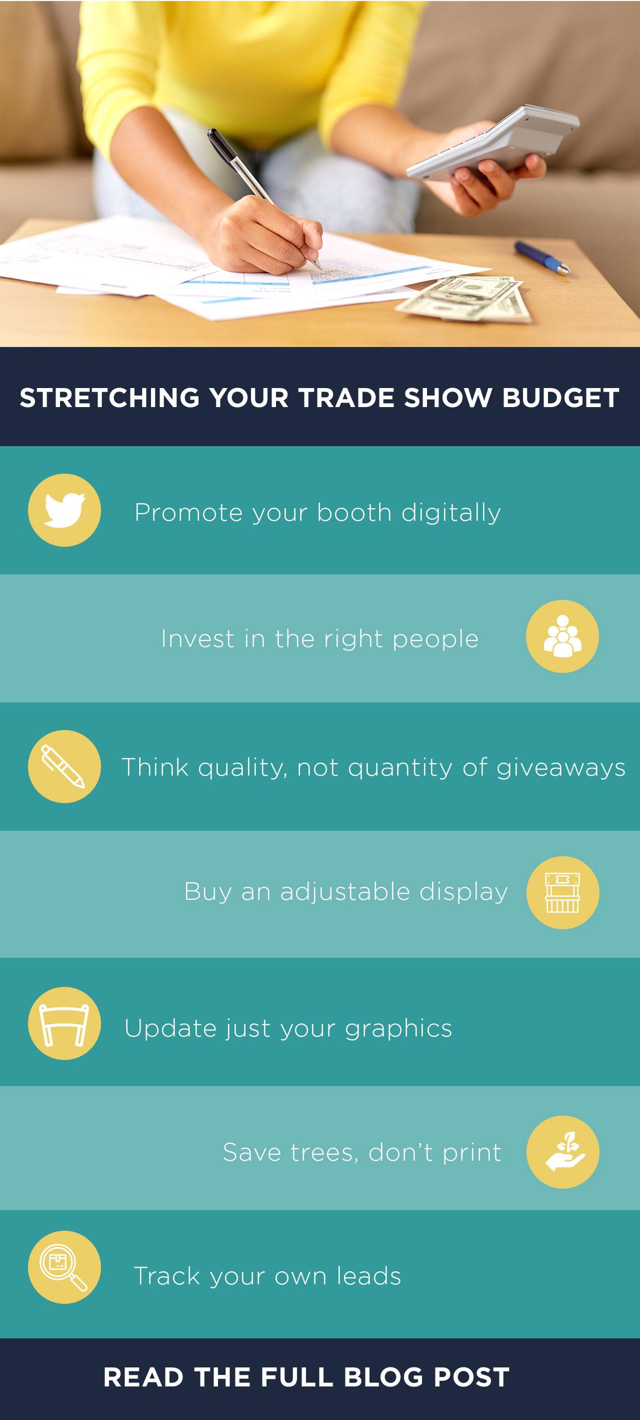 Stretching Your Trade Show Budget