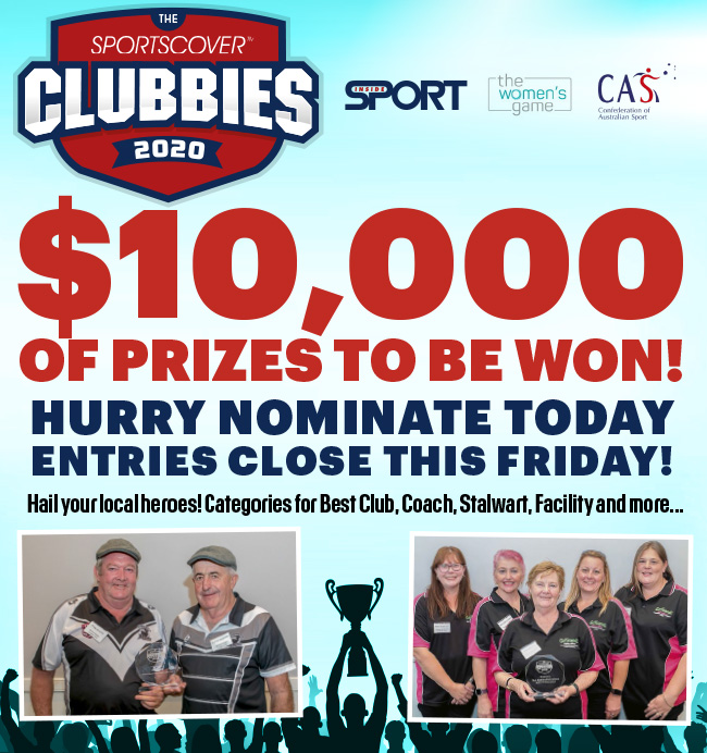 $10,000 OF PRIZES TO BE WON! HURRY NOMINATE TODAY ENTRIES CLOSE THIS FRIDAY!*