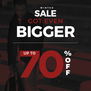 WINTER SALE GOT EVEN BIGGER