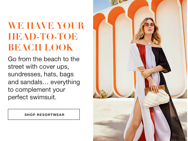 Shop resortwear