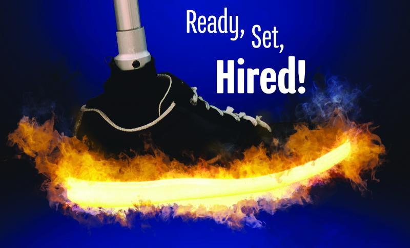 Ready Set Hired Graphic