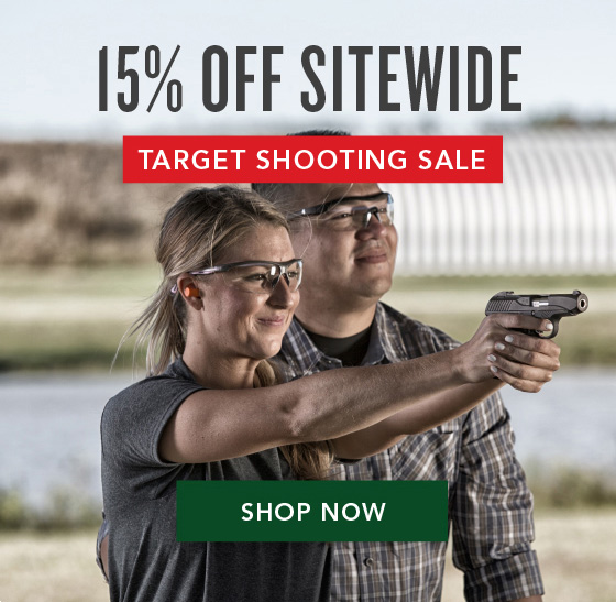 15% OFF Sitewide - Summer Target Shooting Sale