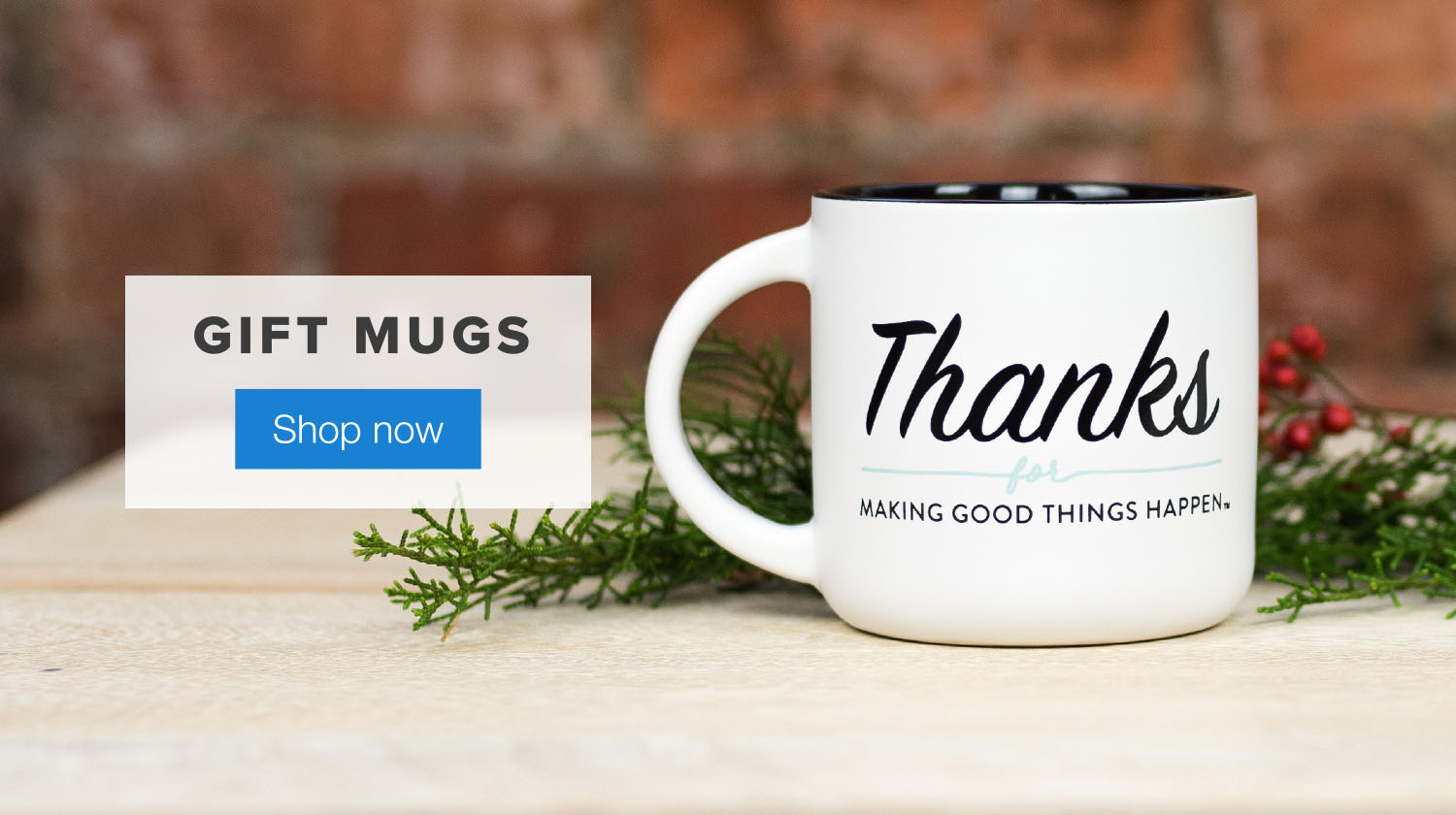 The Note Good Things Gift Mug. Shop Now.