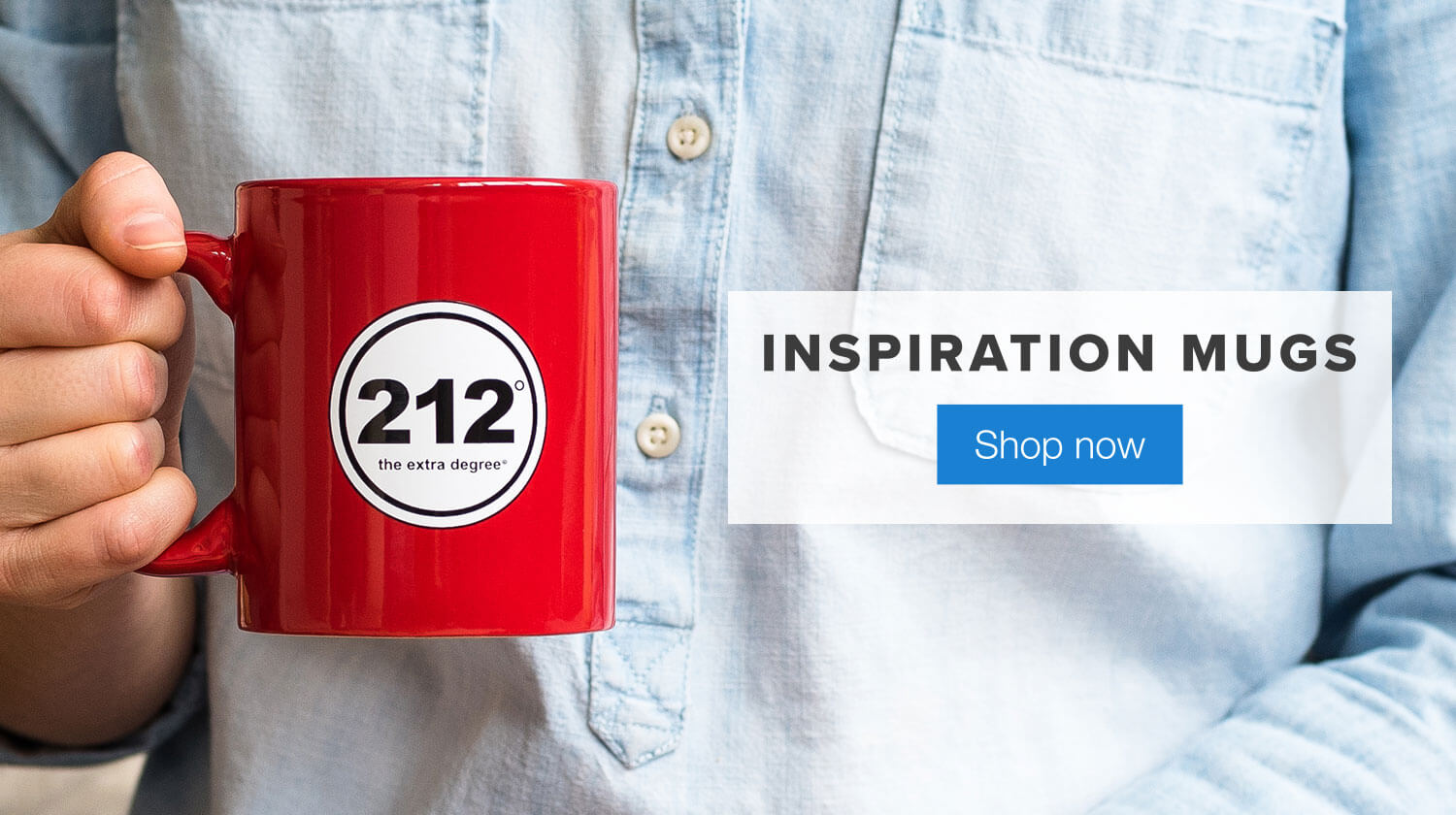 212 Mug. Inspiring Mugs. Shop Now.