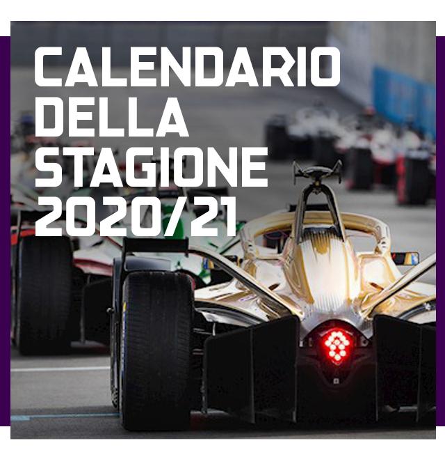 CALENDARIO DELLA STAGIONE 2020/21