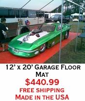 12' x 20' Garage Floor Mat
