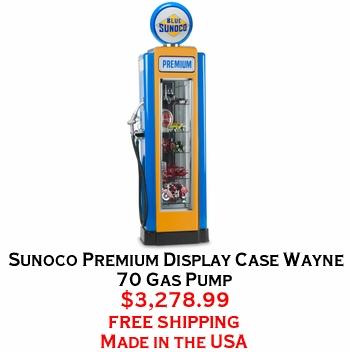 Sunoco Premium Display Case Wayne 70 Gas Pump