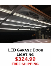 LED Garage Door Lighting
