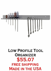 Low Profile Tool Organizer