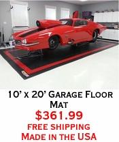10' x 20' Garage Floor Mat
