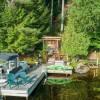 LAKE FLOWER WATERFRONT CABIN